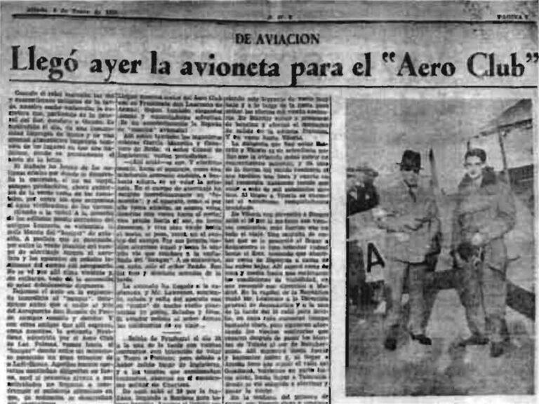 Artículo La aviación en Canarias - 1987