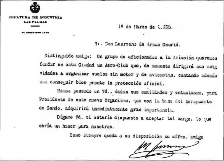 Boletín adhesión - 1935